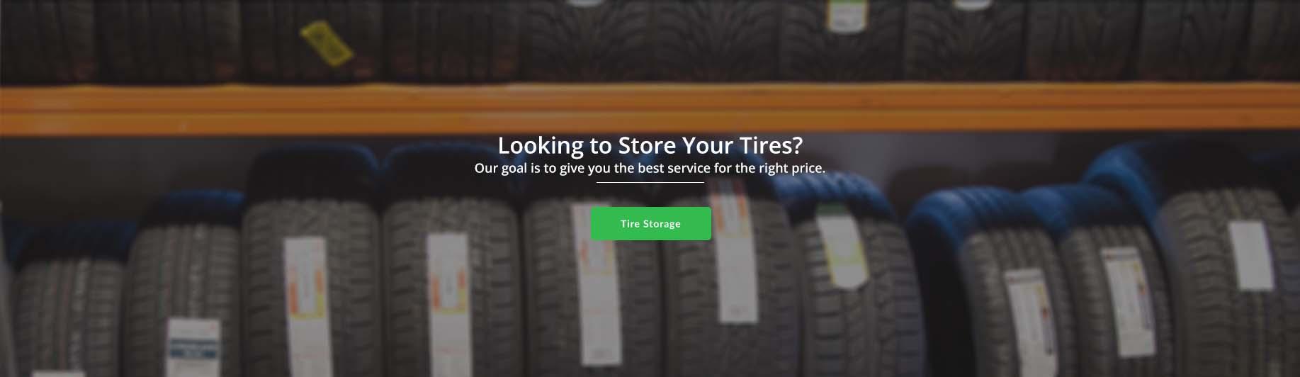 Tire Storage Milton, Ontario